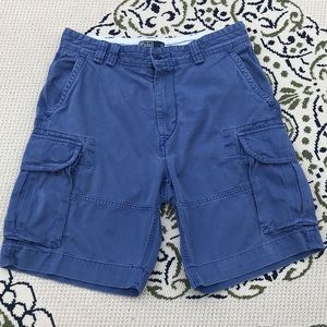 Polo by Ralph Lauren blue cargo shorts. Size 34.